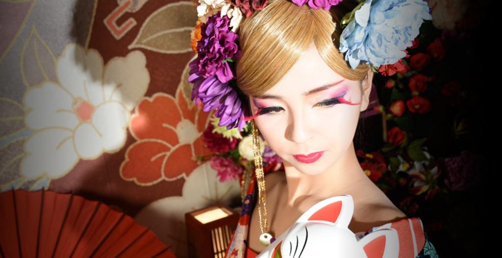 京都花魁体験「葵」