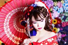 豊富な衣裳が魅力の京都のスタジオ「花りん」で花魁体験をしよう