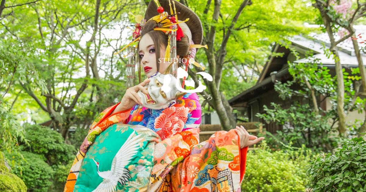 透明感のある写真が魅力の花魁体験!京都の「STUDIO心」とは?