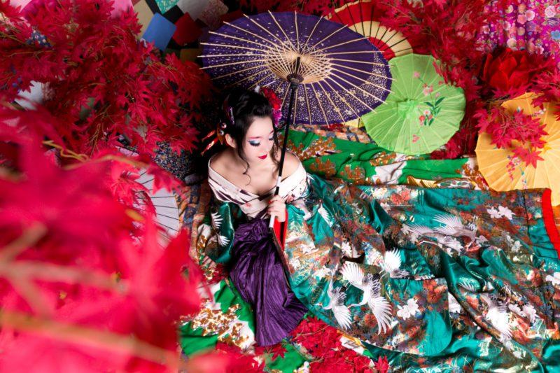 華やかな花魁姿に変身。京都でおすすめの撮影スポット