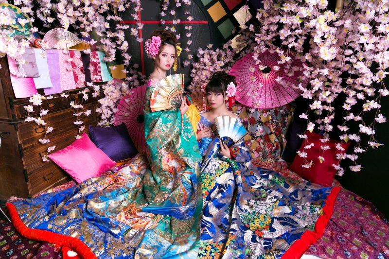 絶対に「いいね」がもらえる京都のおしゃかわ花魁体験