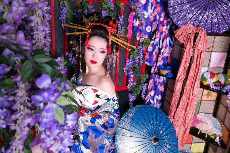 可愛すぎる!京都で花魁写真が撮れる人気スポットとは