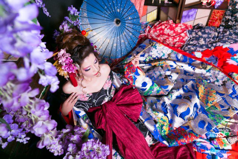 京都は着物レンタルだけじゃない!インスタ映え確実の可愛い花魁体験