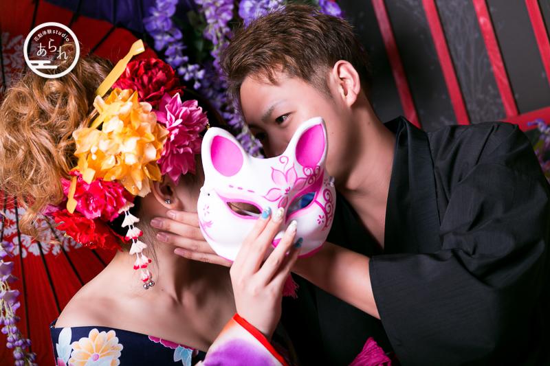 【花魁体験】カップルに大人気!記念日におすすめのスタジオとは