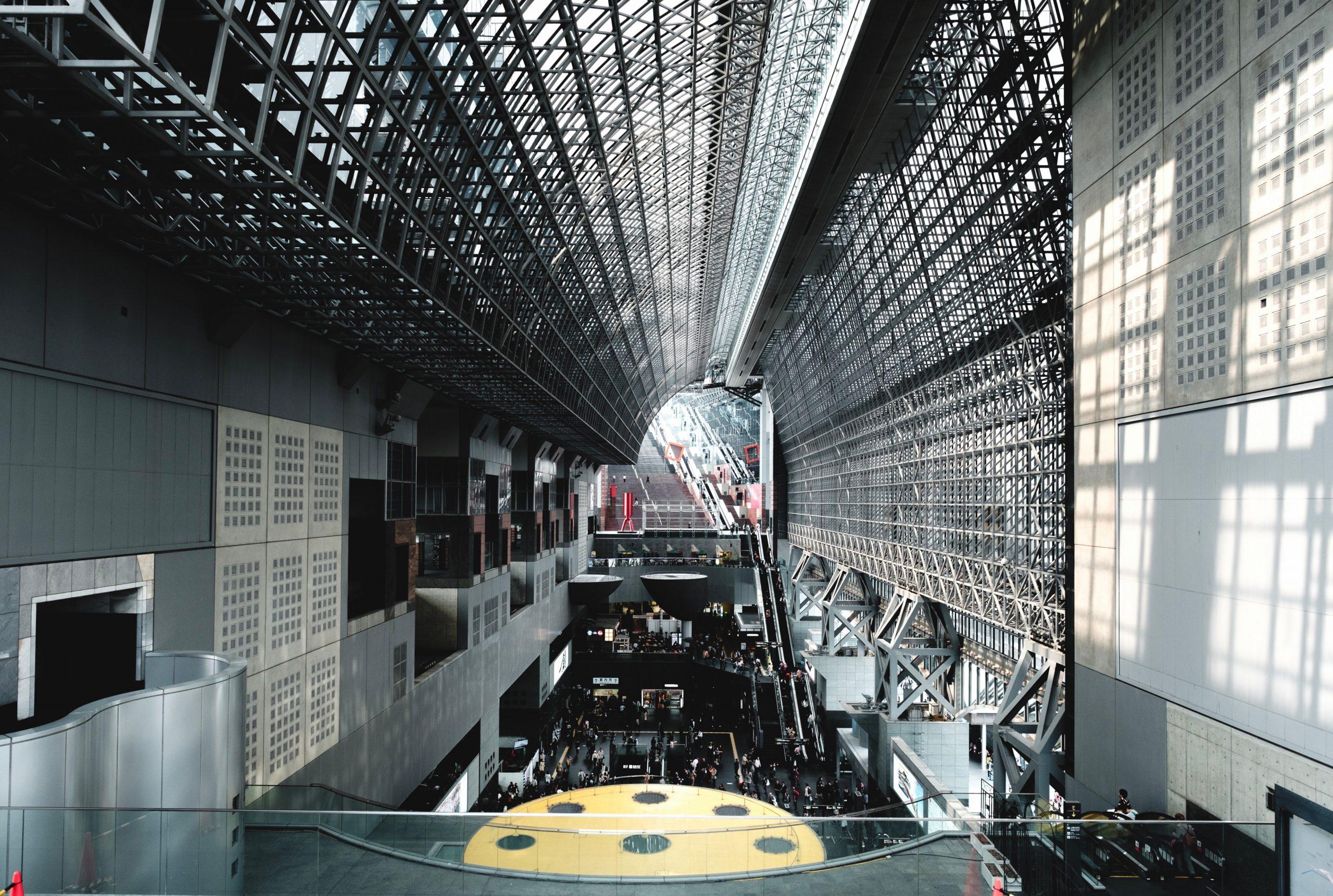 PM5:00 京都駅到着